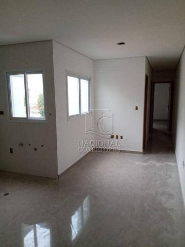 Cobertura Com 2 Dormitórios À Venda, 52 M² Por R$ 400.000,00 - Parque Das Nações - Santo André/sp - Co4664
