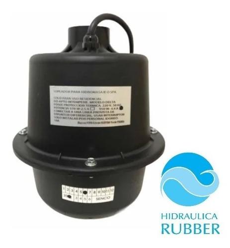 Imagen 1 de 4 de Soplador Hidromasaje Senco 950w Hidraulica Rubber