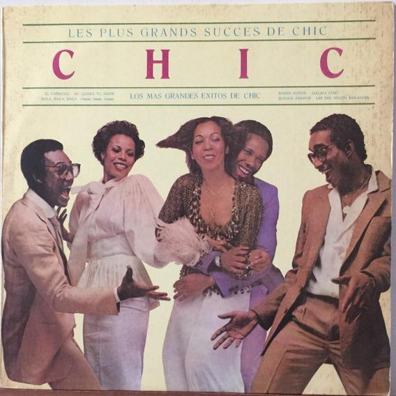 Chic - Los Mas Grandes Exitos - Disco De Vinilo