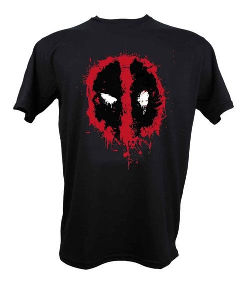 Remera Deadpool Marvel Con Licencia