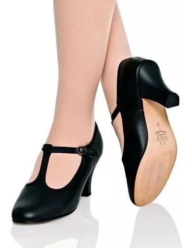 Sapato Dança De Salão 42c Capezio Couro