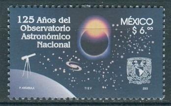 Sc 2314 Año 2003 125 Años Del Observatorio Astronomico Nacio