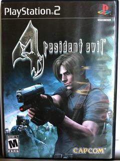 Resident Evil 4 Para Play Station 2 Seminuevo