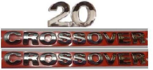 Kit Emblemas 2.0 Crossover (2) Para Parati + Brinde Vw