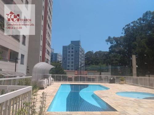 Imagem 1 de 20 de Apartamento Com 2 Dormitórios À Venda, 48 M² Por R$ 240.000 - Vila Santa Teresa (zona Sul) - São Paulo/sp - Ap3097