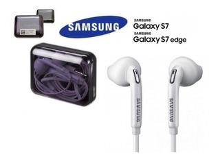 Auriculares Manos Libres Original Samsung Eo-eg920lw Galaxy S7 J4 J6 M10 J5 J7