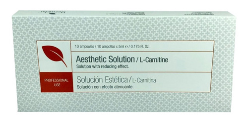 Solucion Anticelulitica L-carnitina  De - L a $1860