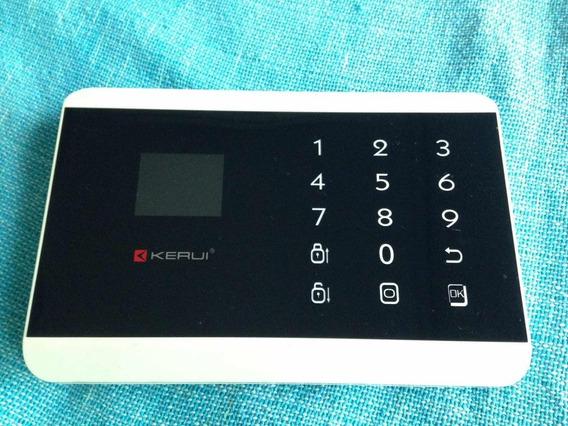 Alarma Inalambrica Wireless Gsm Led Touchpad Megakit Liquido