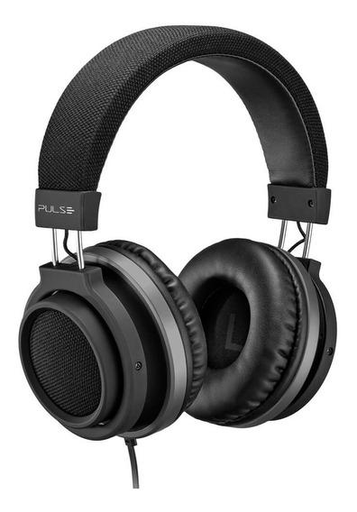 Fone Ouvido Pulse Ph226 Headphone Auxiliar P2 Preto Com Fio