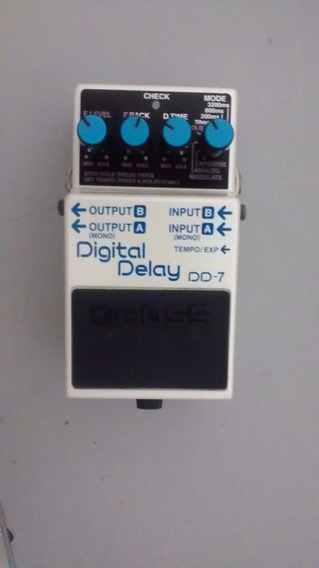 Pedal Delay Boss Dd7