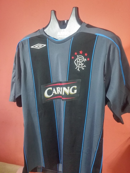Camisa Do Rangers Football Club Da Escócia