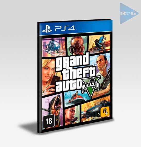 Grand Theft Auto Gta 5 V - Ps4 2 - Envio 10 Min