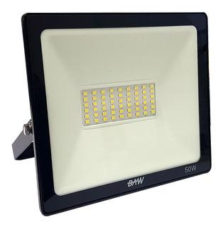 Reflector Led 50w Bajo Consumo Alta Potencia Exterior Baw
