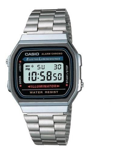 Reloj Hombre Casio A168wa Retro Digital / Lhua Store