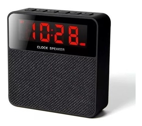 Radio Com Despertador Mp3 Alarme Digital Bluetooth