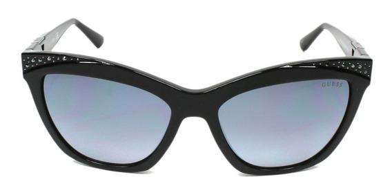 Óculos Solar Guess ( Original ) Acetato Feminino + Brinde
