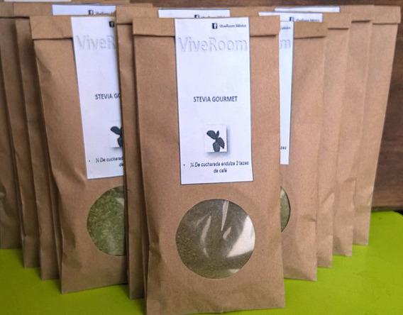 Stevia Gourmet(triturada Y En Polvo)45gr C/u1000 Disponibles