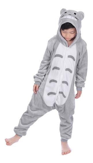 Pijama Mameluco Kigurumi Cosplay Mi Vecino Totoro Niños Niña