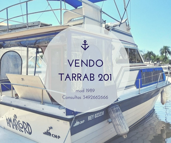 Tarrab 201 1989 8.95mts. Volvo Penta 200hp Turbo 6 Cil.dp290