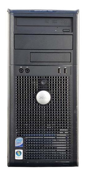 Pc Desktop Dell Torre Core 2 Duo 2gb Ddr2 Hd320gb Leitor