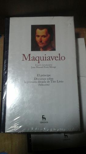 Maquiavelo - Gredos Editorial