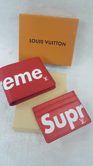 Billetera Supreme Gucci