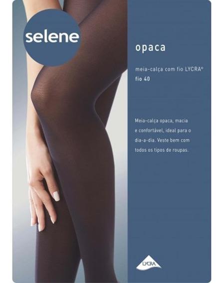 Meia -calça Selene Fio Lycra Fio 40 Feminina