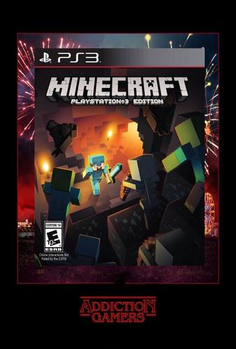 Minecraft Ps3 Digital (español Completo)