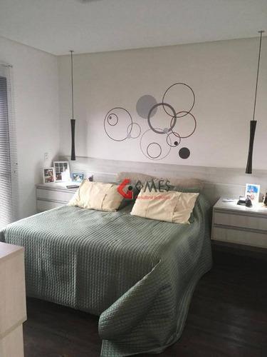 Apartamento Com 3 Dormitórios À Venda, 170 M² Por R$ 1.375.000,00 - Vila Dayse - São Bernardo Do Campo/sp - Ap2860