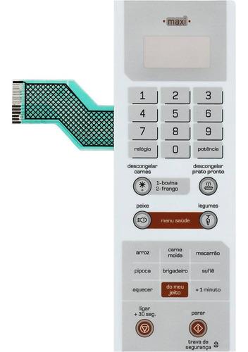 Membrana Teclado Microondas Brastemp Bms35ab Bms 35ab Maxi
