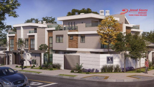Sobrado Com 3 Dormitórios À Venda, 165 M² Por R$ 935.858,00 - Jardim Das Américas - Curitiba/pr - So1055