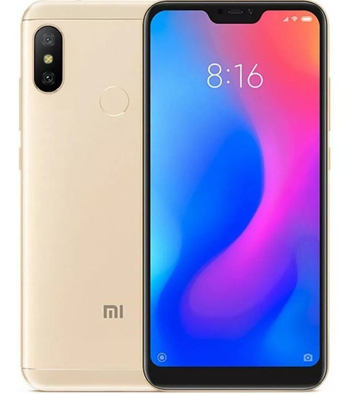 Xiaomi Mi A2 Lite 64gb Ram 4gb Version Global Sellado - Gold
