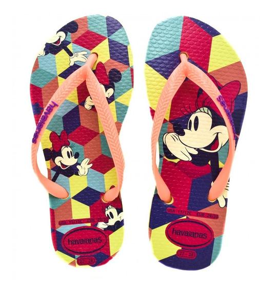 Chinelo Havaianas Infantil Menina Disney Cool 4130287