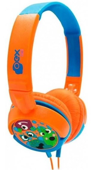 Headphone Infantil Boo Kids Hp301 - Potência Limitada - Oex