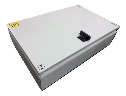 Gabinete Caja Estanco Metalico 60 Bocas Din 45x45x12cm Forli