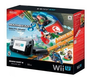 Nintendo Wii U 32gb + Wii Remote E 3 Jogos