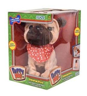 Perro Puppy Dog Interactivo Ladra Gruñe Ditoys - Mipong