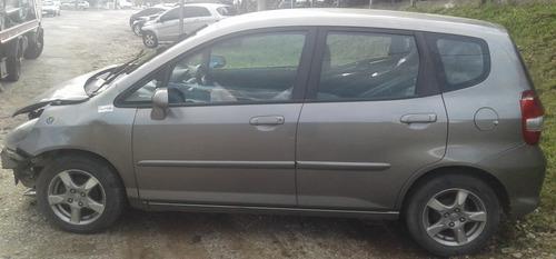 Honda Fit 2008 Flex Sucata Para Peças