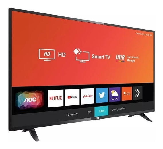 Smart Tv Led 32 Aoc 32s5295/78g Hd Hdr Com Wi-fi + Brinde