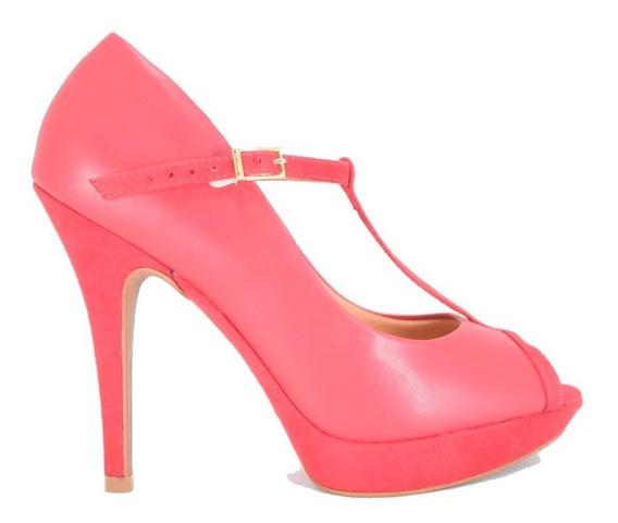 Zapatos Vizzano Rojo