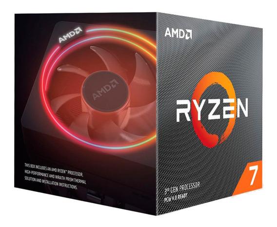 Micro Procesador Amd Ryzen 7 3700x 4.4 Ghz Am4 Mexx1