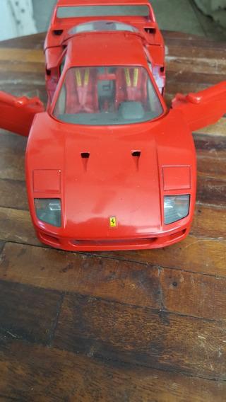 Ferrari Escala 1/18 Burago F40 1987