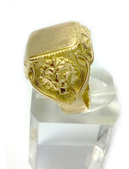 Anel Ouro Maciço 18k-750