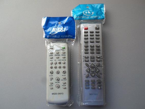 Kit C/2 Controles Home Theater Philco Ph-400 / Som Sony