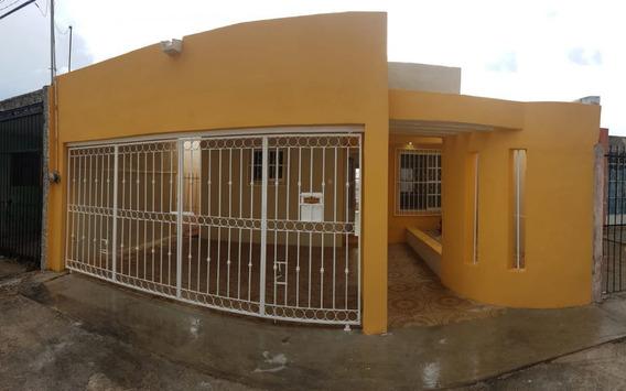 Casa De 2 Recámaras En Fraccionamiento Colibrí, Al Oriente De Mérida.