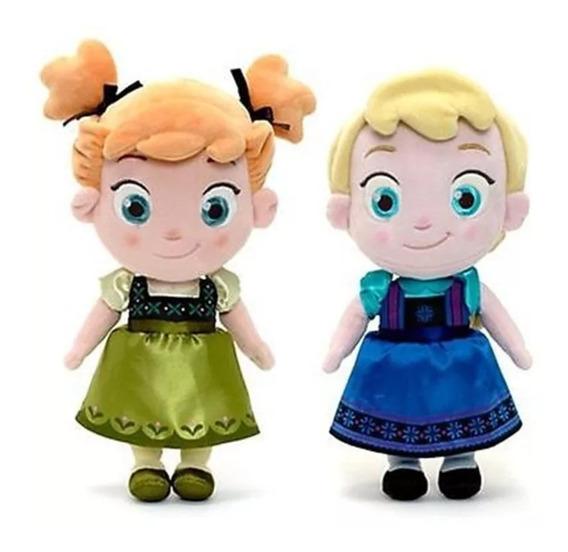 Pelucia Ana E Elsa Frozen Criança Pos Festa