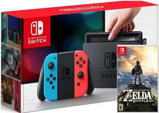Nintendo Switch 32gb + Zelda Fisico Envio Gratis Jazz Pc