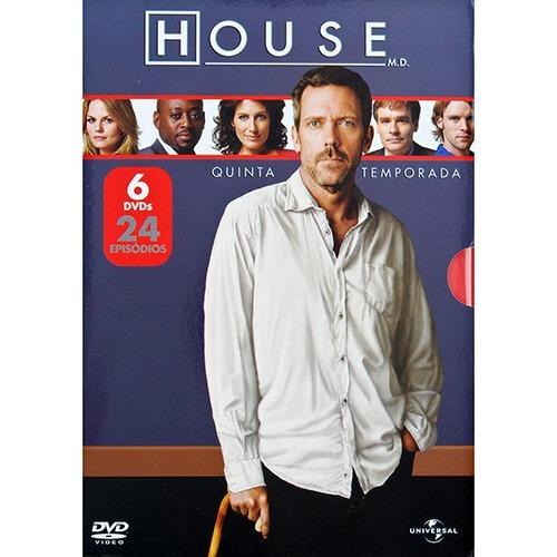 House - Dvd | Quinta Temporada Completo