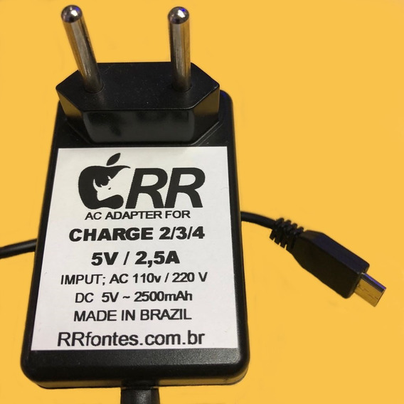 Fonte Carregador Compativel Com Caixa De Som Jbl Charge 2 5v