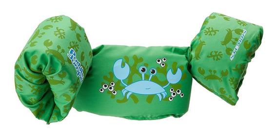 Inflable Puddle Infantil Jumper Forma De Cangrejo